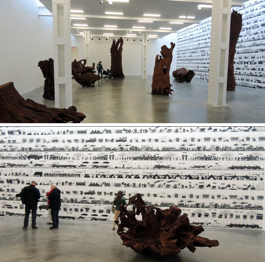 Ai Weiwei exhibition at Lisson Gallery