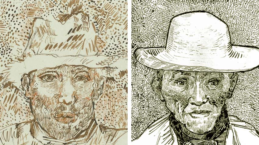 Van Gogh Drawings Looking For Clues Of Authenticity The