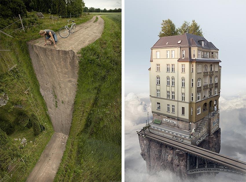 images by surrealist photographer Erik Johansson